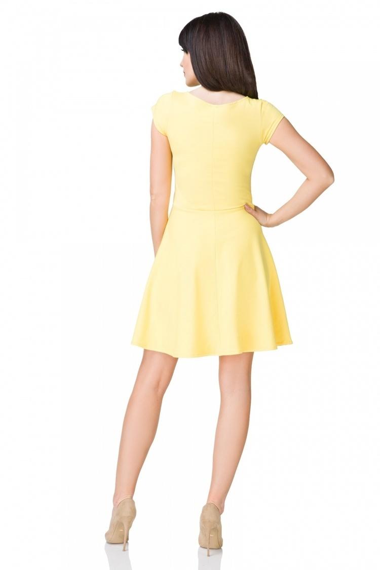 Sukienka model T184/4 Yellow - Tessita