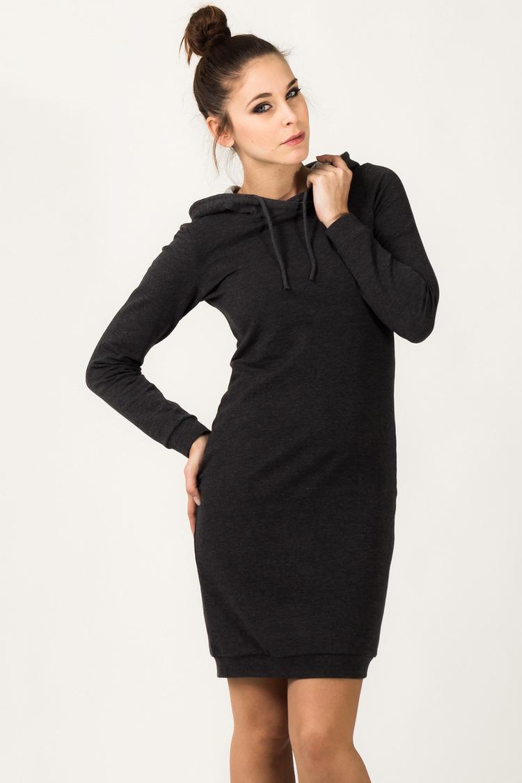 Sukienka Model Beata 1 Dark Grey - Tessita