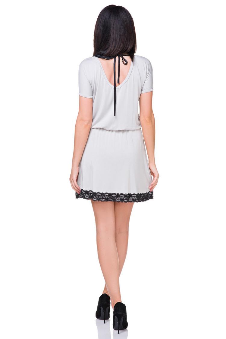 Sukienka Model T171 Light Grey - Tessita