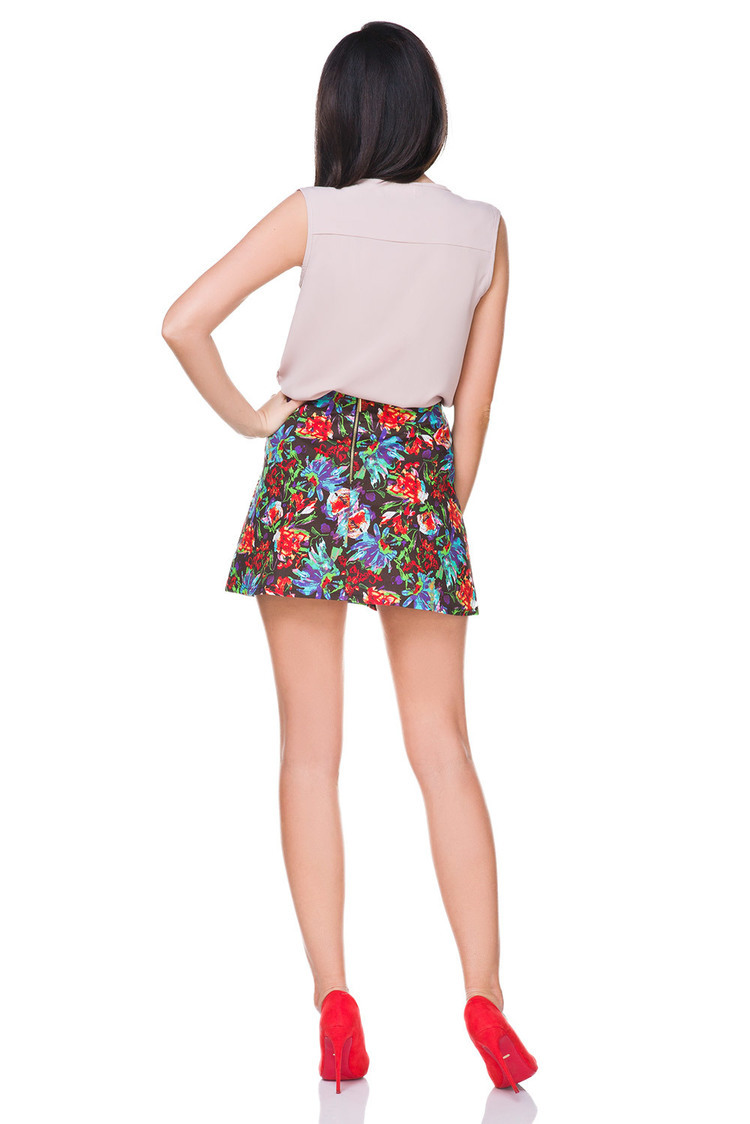 Spódnica Model T168 Flowers - Tessita