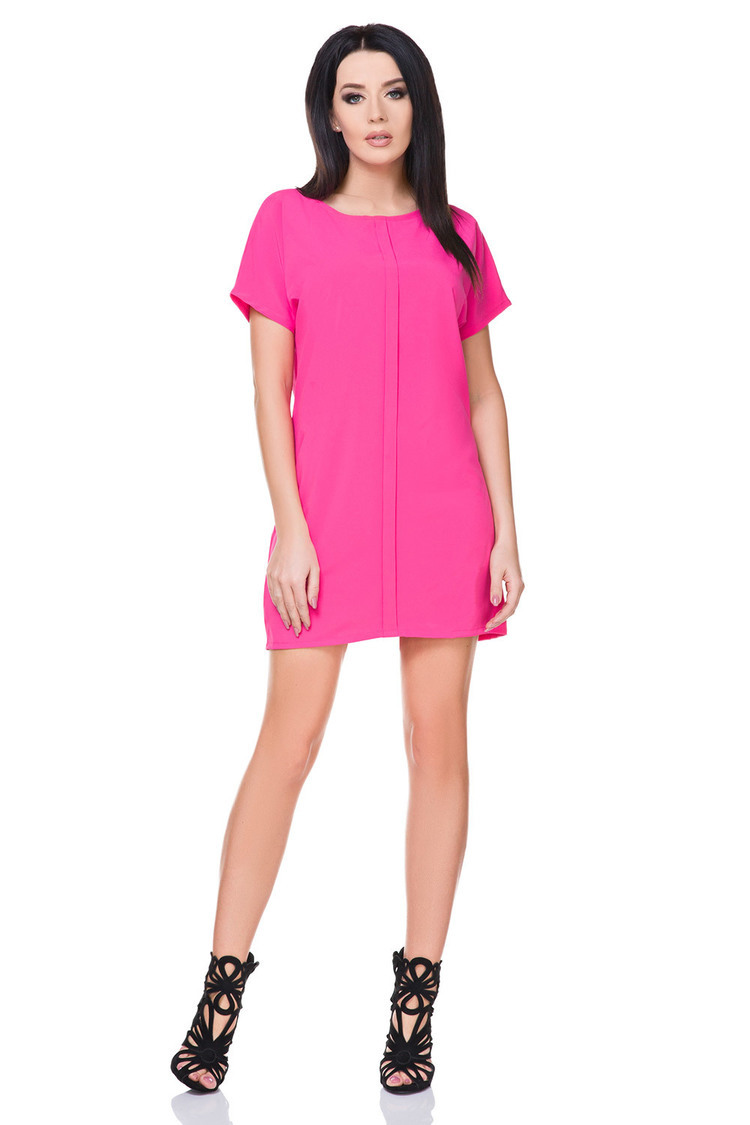 Sukienka Model T166 Dark Pink - Tessita