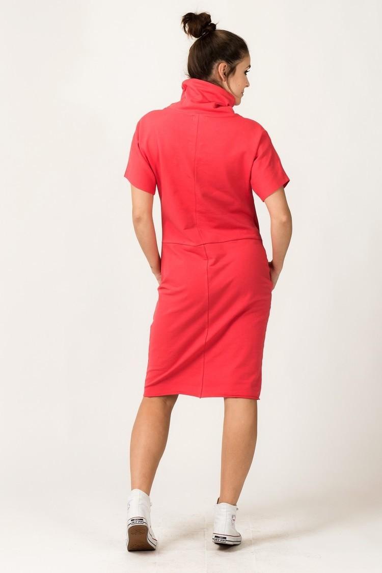 Sukienka Model Irmina 5 Coral - Tessita