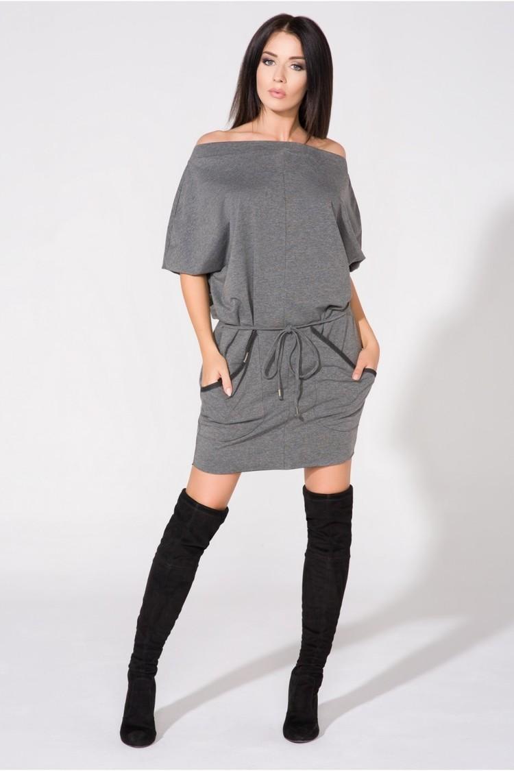 Sukienka Model T155 Grey - Tessita