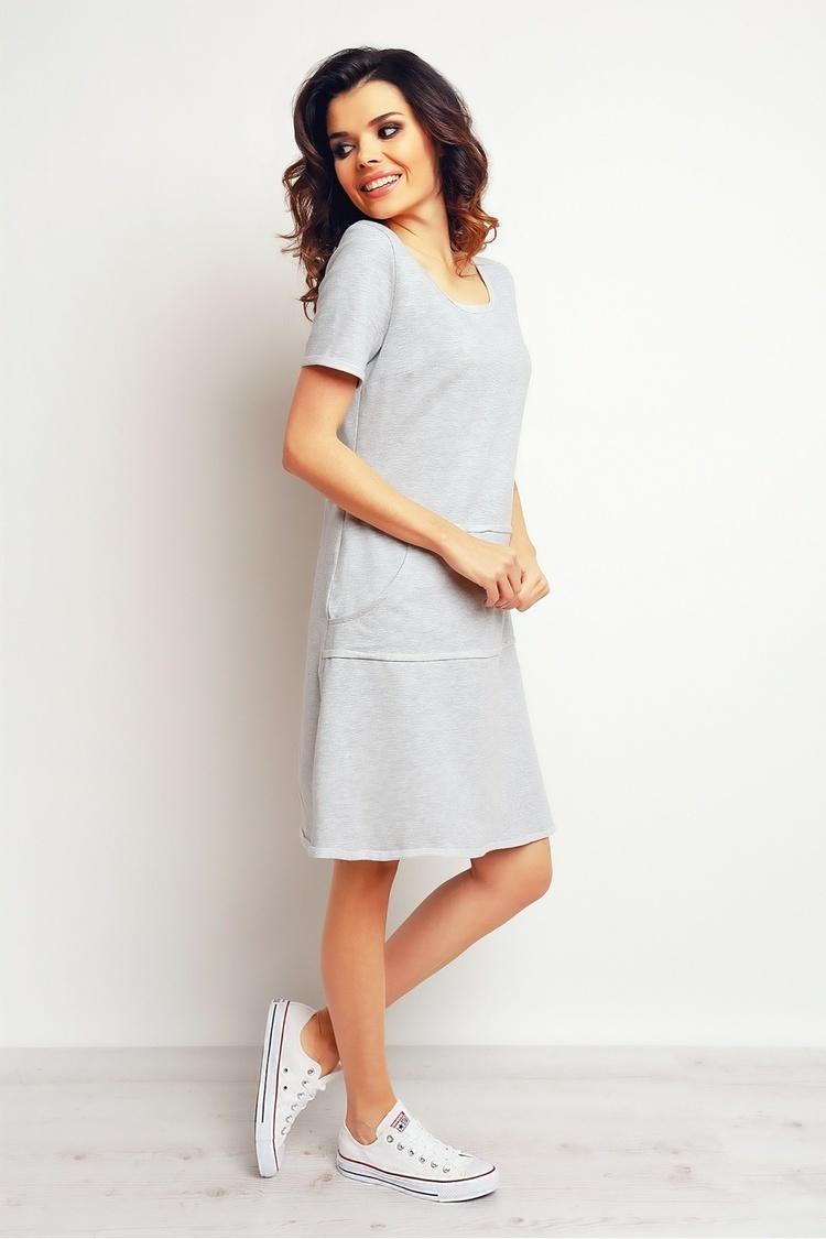 Sukienka Model M073 Grey - Infinite You