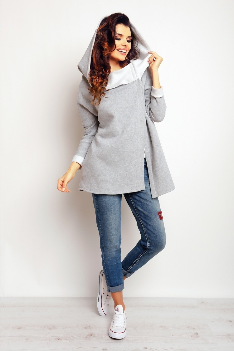 Bluza Damska Model M096 Grey - Infinite You