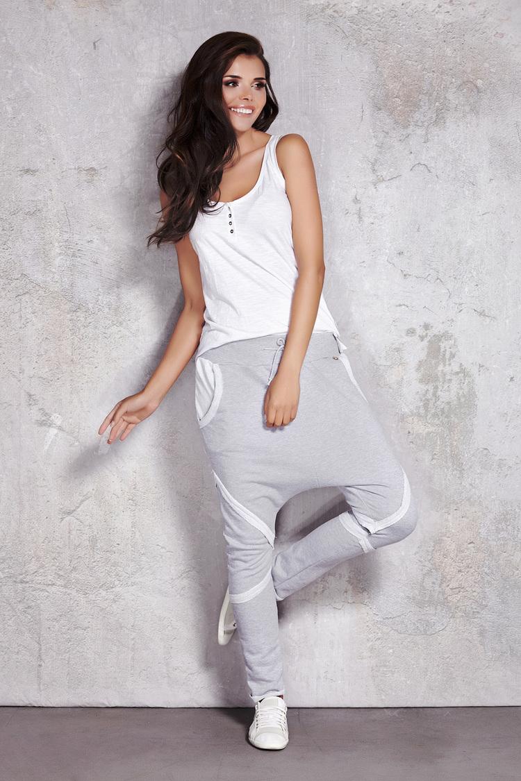 Spodnie Damskie Model M025 Grey - Infinite You