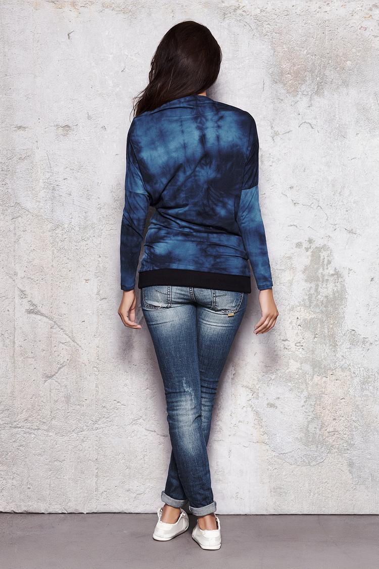 Bluza Damska Model M018 Blue - Infinite You