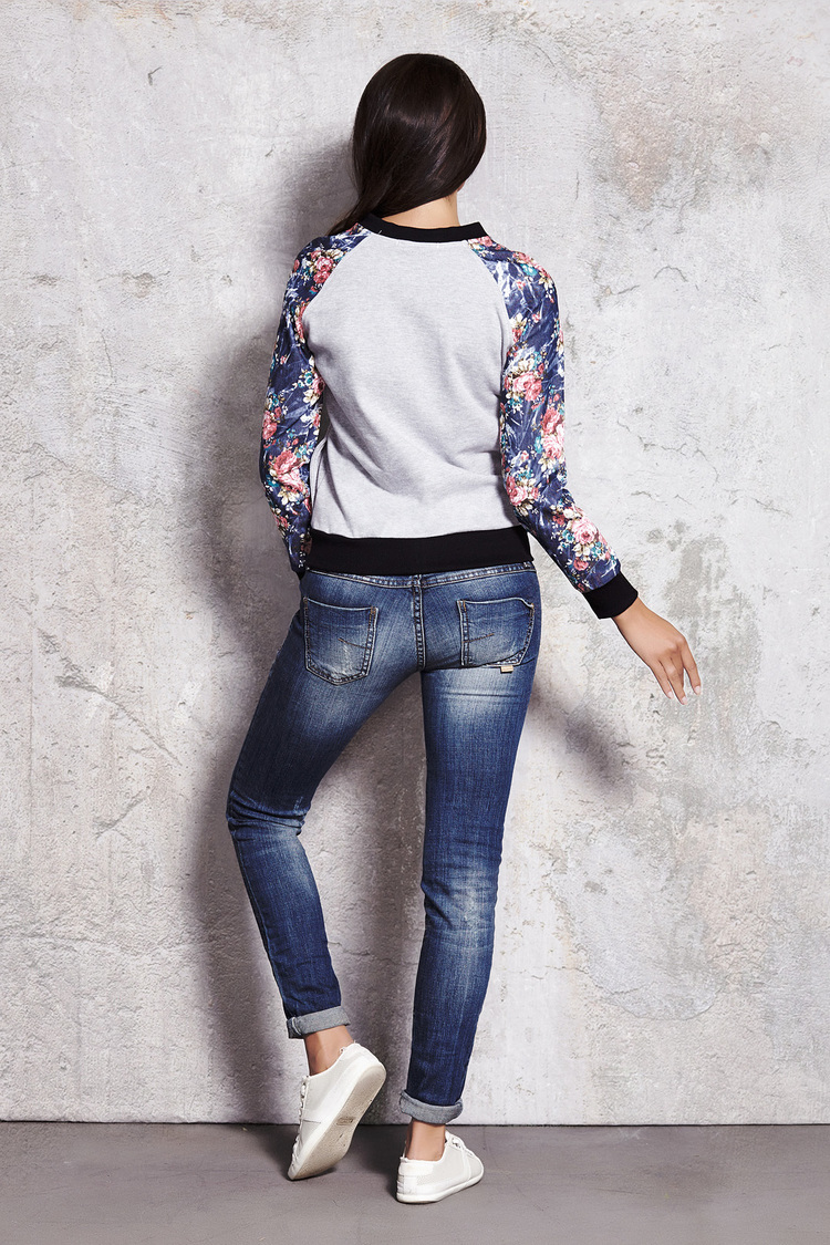 Bluza Damska Model M019 Grey - Infinite You