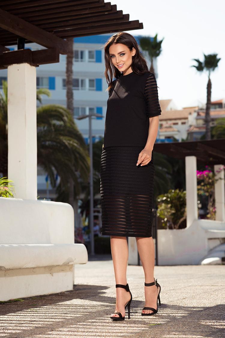 Sukienka Komplet Model L236 Black - Lemoniade