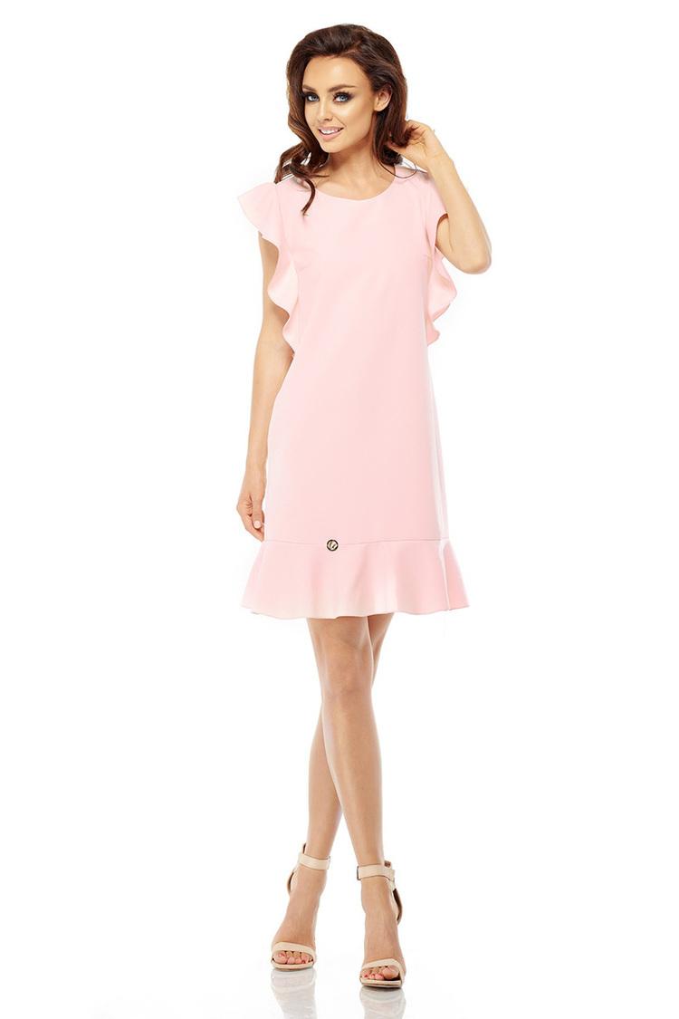 Sukienka Model L248 Powder Pink - Lemoniade