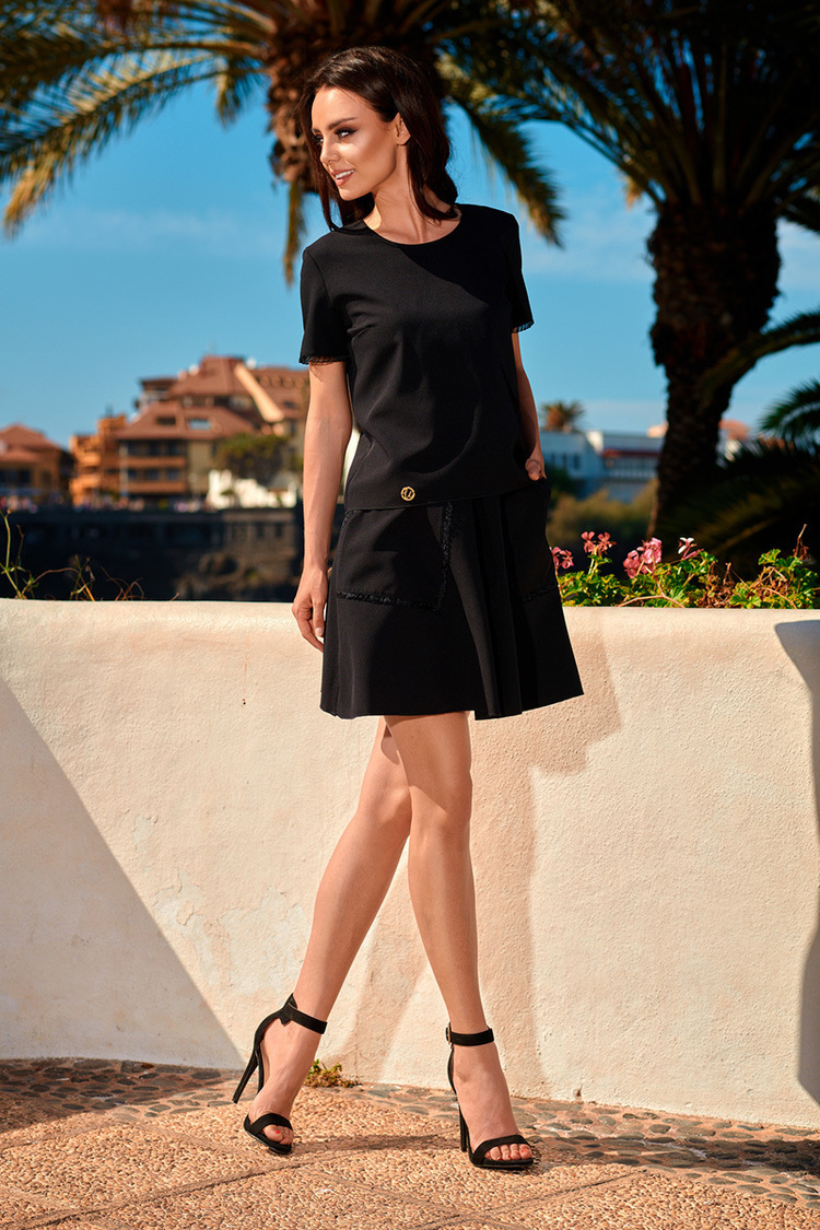 Sukienka Komplet Model L239 Black - Lemoniade