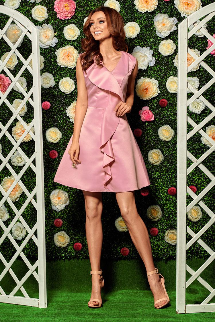 Sukienka Model L259 Powder Pink - Lemoniade