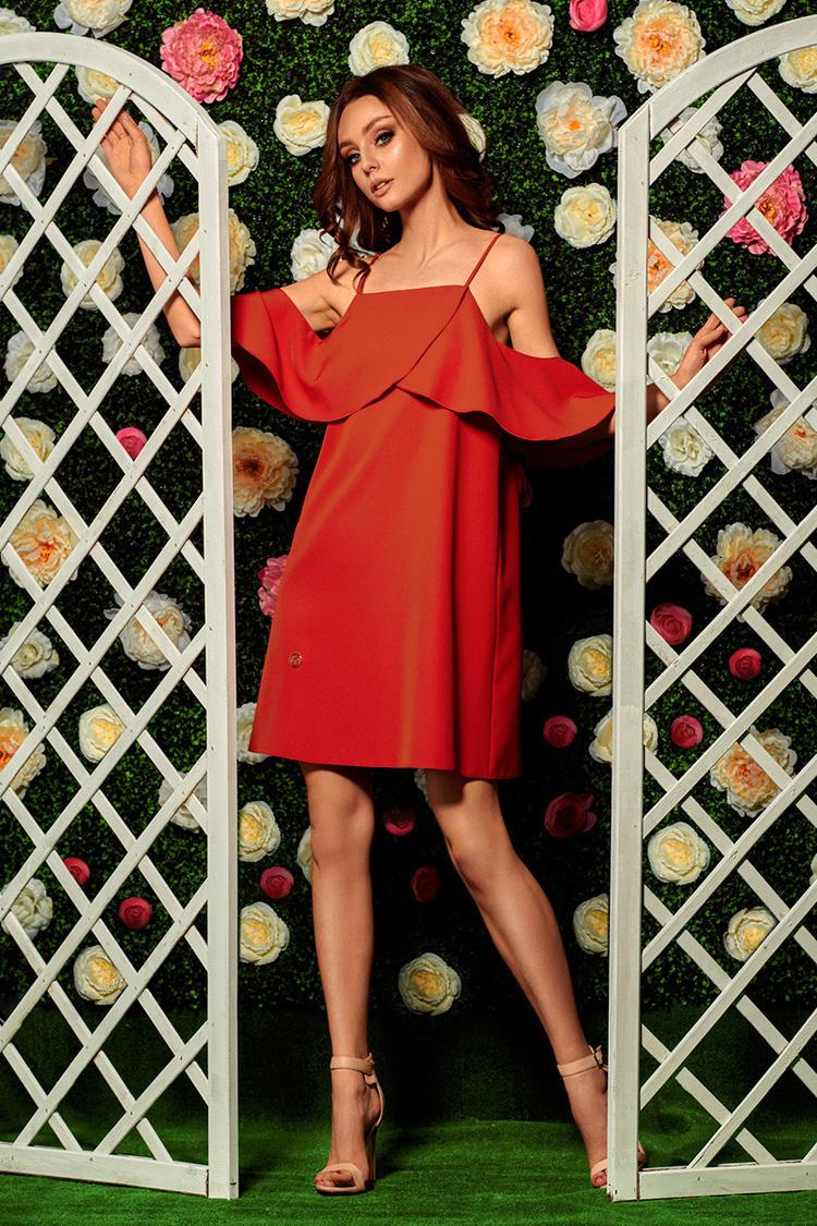 Sukienka Model L256 Red - Lemoniade