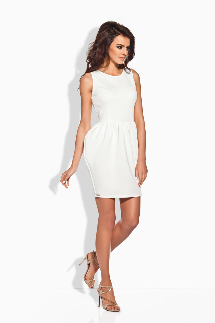 Sukienka Model L141 Ecru - Lemoniade