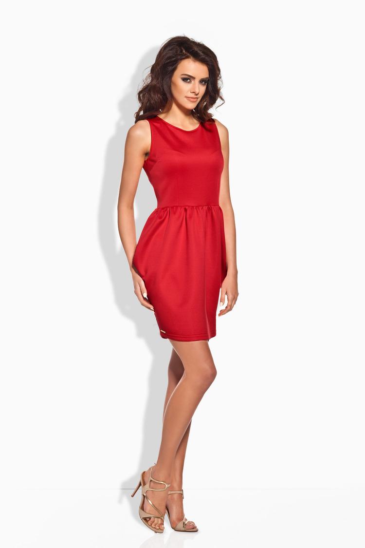 Sukienka Model L141 Red - Lemoniade