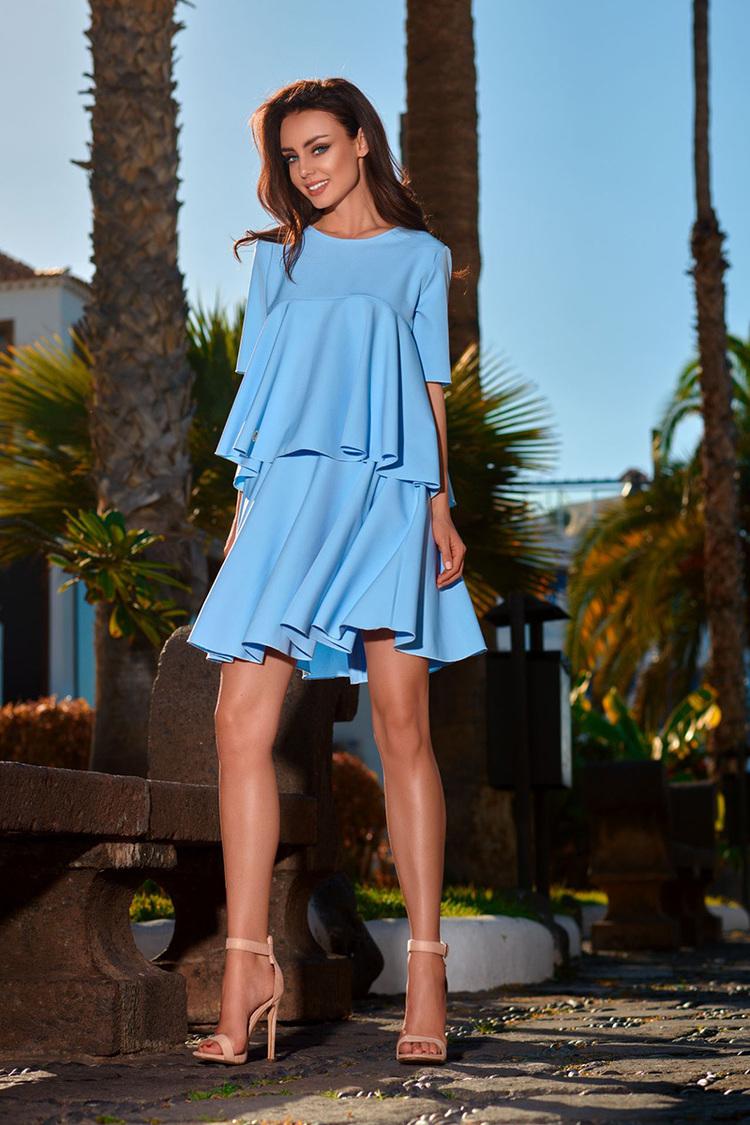 Sukienka Komplet Model L238 Sky Blue - Lemoniade
