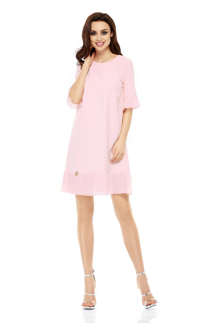 Sukienka Model L243 Powder Pink - Lemoniade