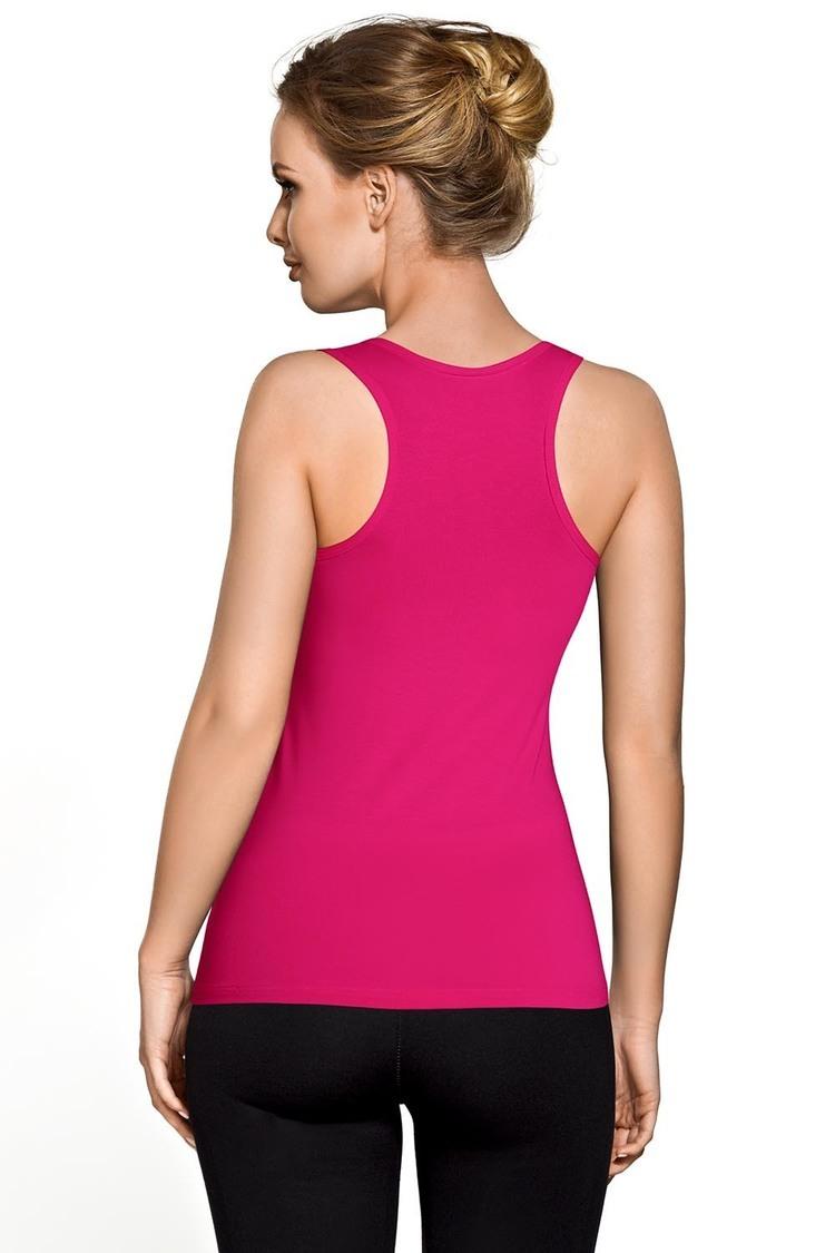 Koszulka Bokserka Model BLV 017 Pink - Vestiva