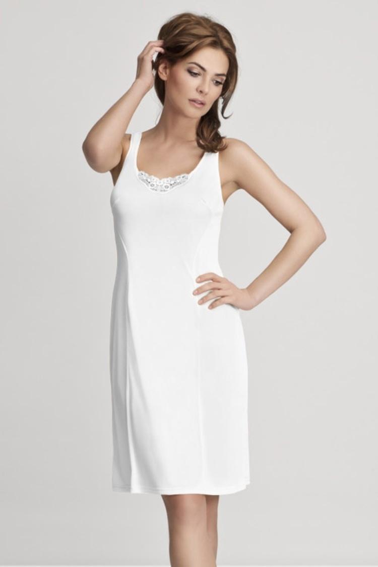 Koszulka nocna Halka Model 4127 White - Mewa