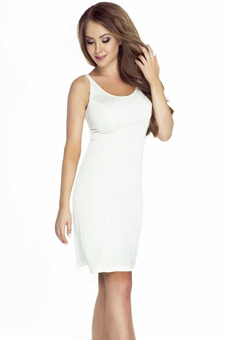 Koszulka nocna Halka Model 4126 White - Mewa