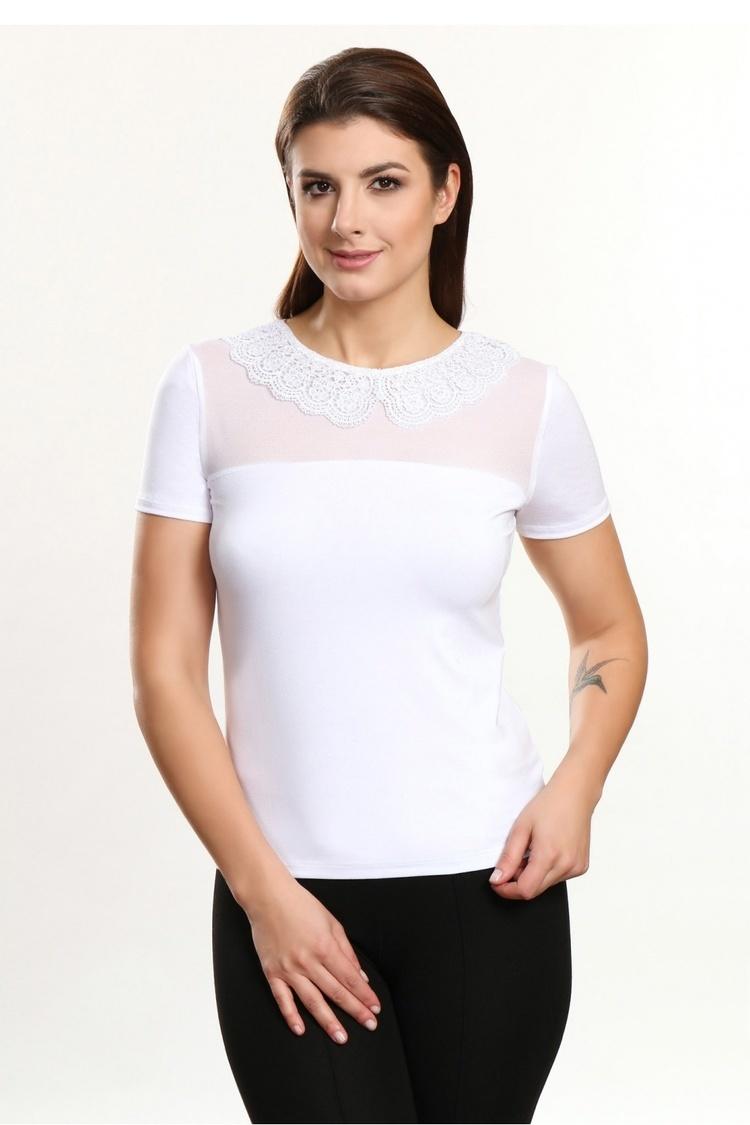 Bluzka Model Alana White - Violana