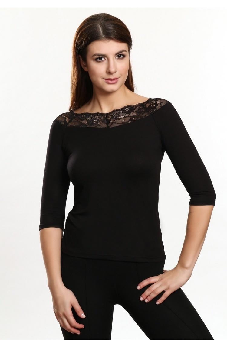 Bluzka Model Olimpia Black - Violana