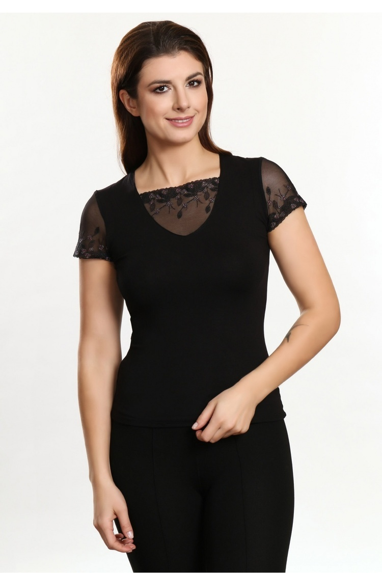 Bluzka Model Nora Black - Violana