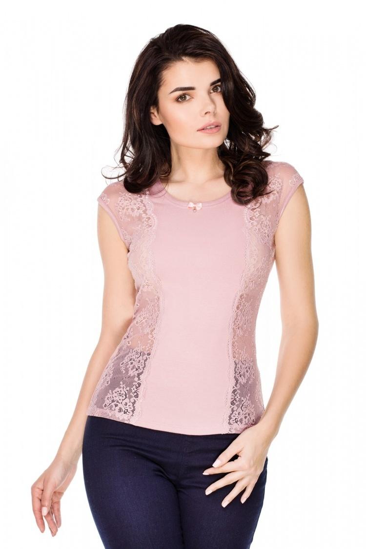Bluzka Model Laurel Pink - Violana