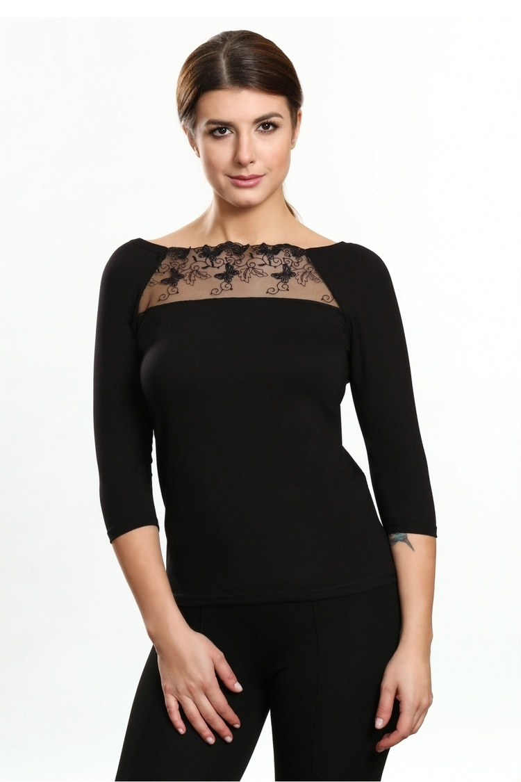 Bluzka Model Inka Black - Violana