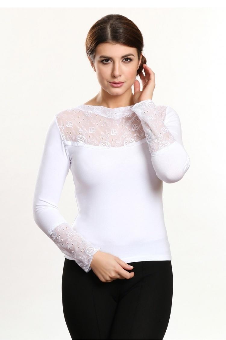 Bluzka Model Estera White - Violana