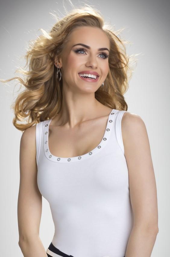 Koszulka Model Kasandra Ecru - Eldar