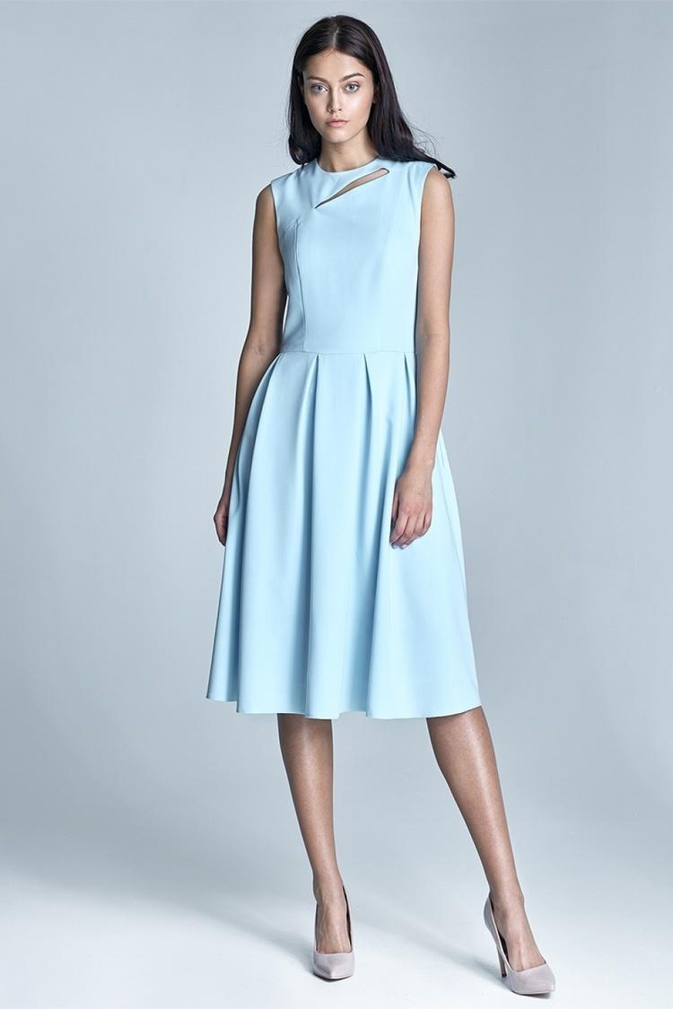 Sukienka Model Ann S73 1211 Sky Blue - Nife