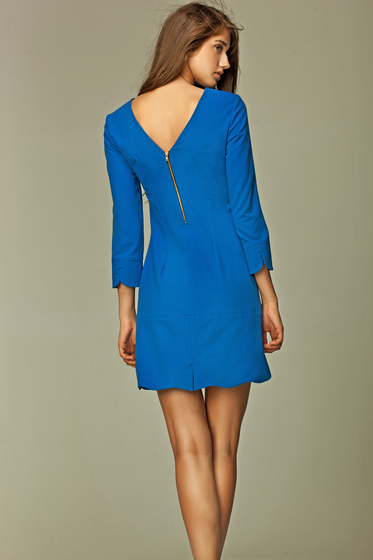 Sukienka Model S28 Blue - Nife