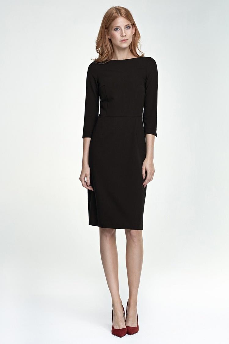 Sukienka Tracy S80 czarny - Nife