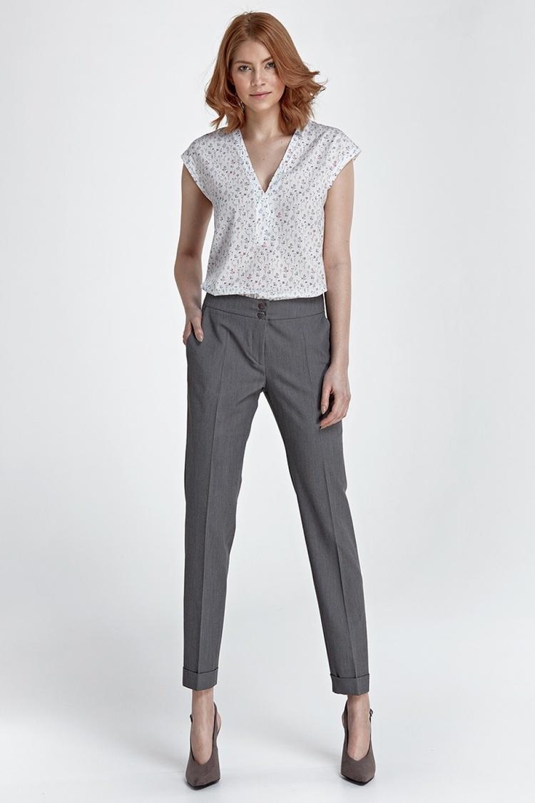 Spodnie z mankietami SD27 Grey - Nife