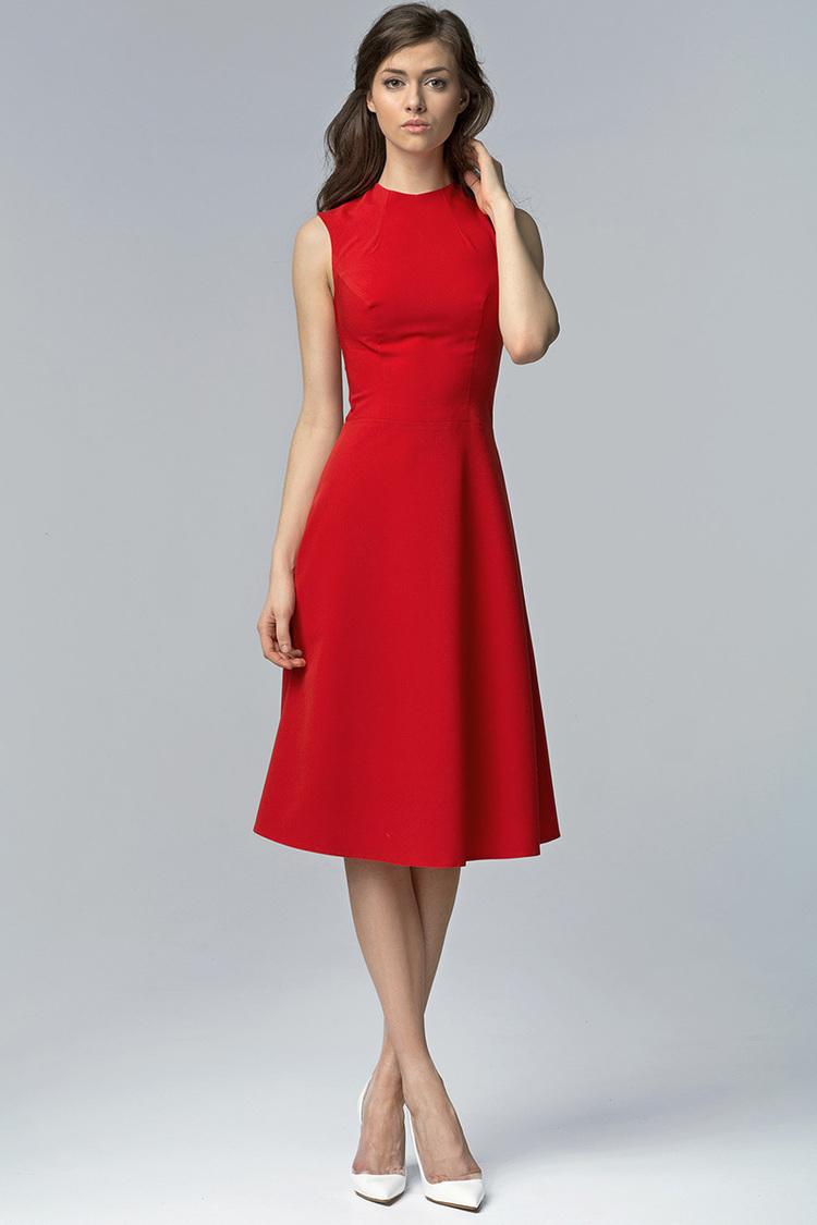 Sukienka Model S62 Red - Nife