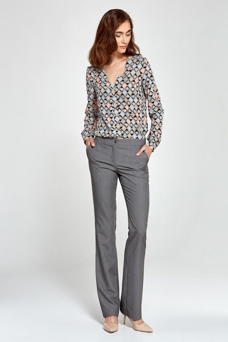 Spodnie bootcut SD29 Grey - Nife