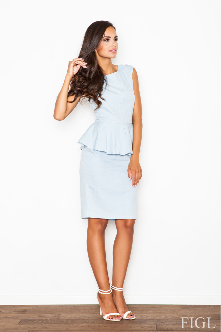 Sukienka Model M401 SKy Blue - Figl