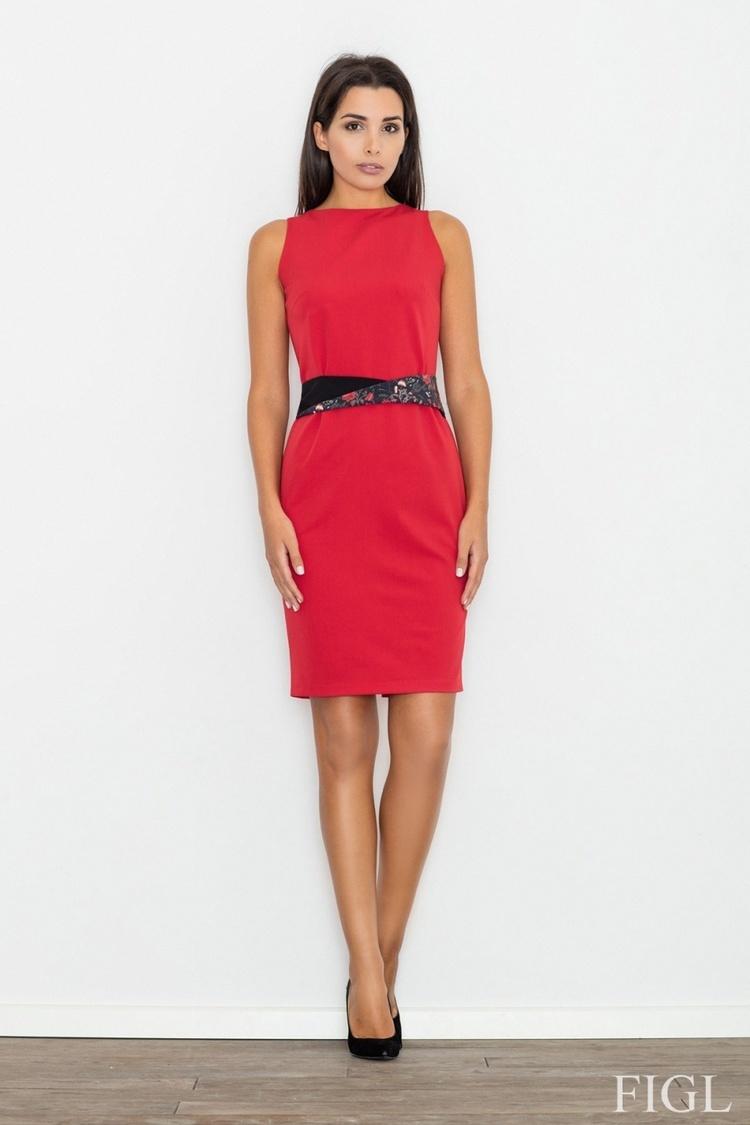 Sukienka Model M534 Red - Figl