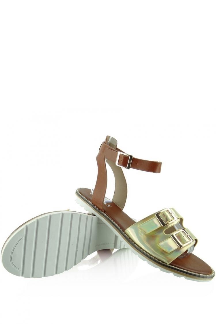 Sandały Model KB2015l-139-3w Gold - Heppin