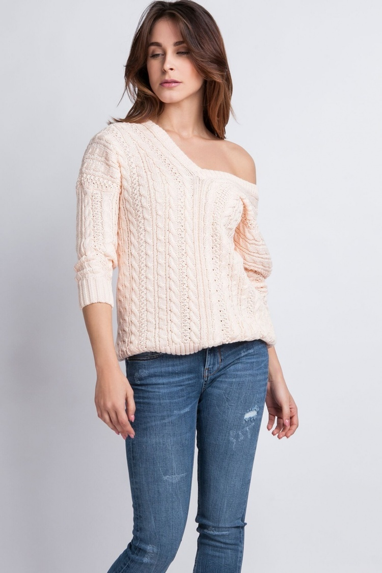 Sweter Kendall SWE 079 różowy - MKM