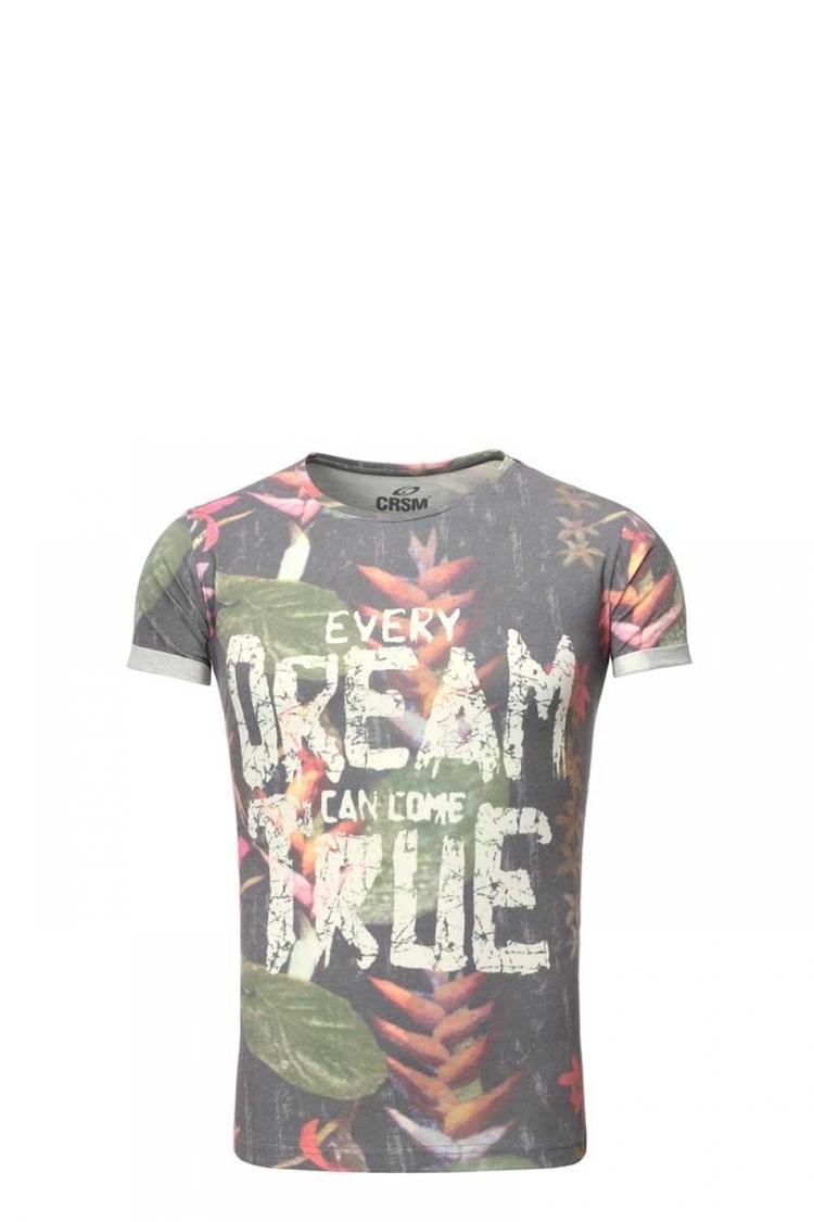 Tshirt Męski Model 17186 Multicolor - YourNewStyle