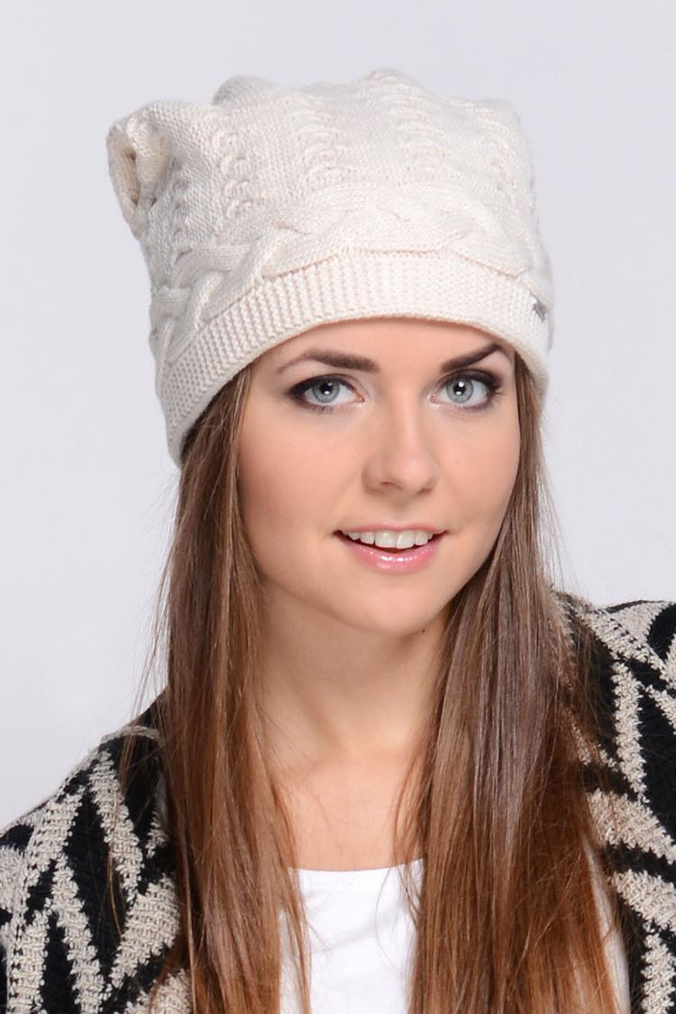 Czapka Model Melanie Beige - Kamea