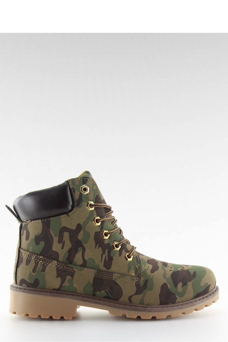 TIMBERKI MONO-COLOUR KAMUFLAŻ BL83 ARMY GREEN - Inello