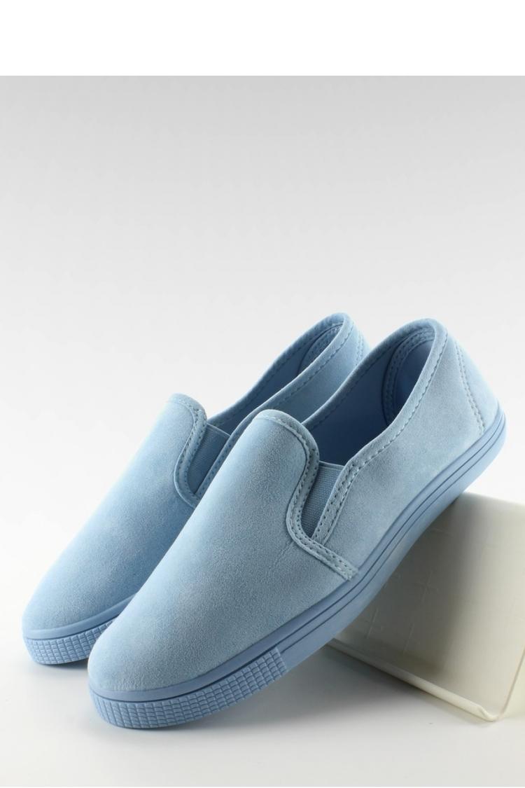 MIĘCIUTKIE TRAMPKI SLIP-ON JX40P L. BLUE - Inello