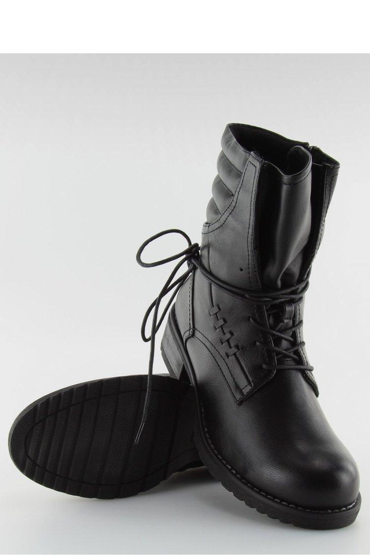 BOTKI GLANY CZARNE 9560 BLACK - Inello