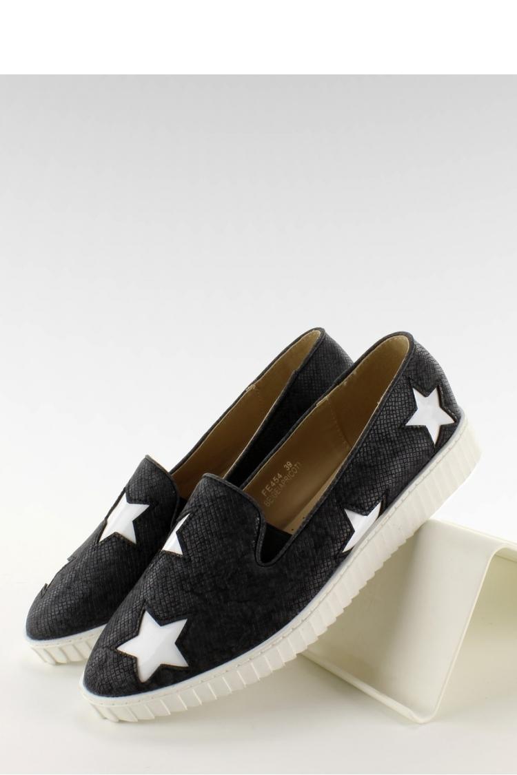 Trampki Slip-on Model FE454 Black - Inello