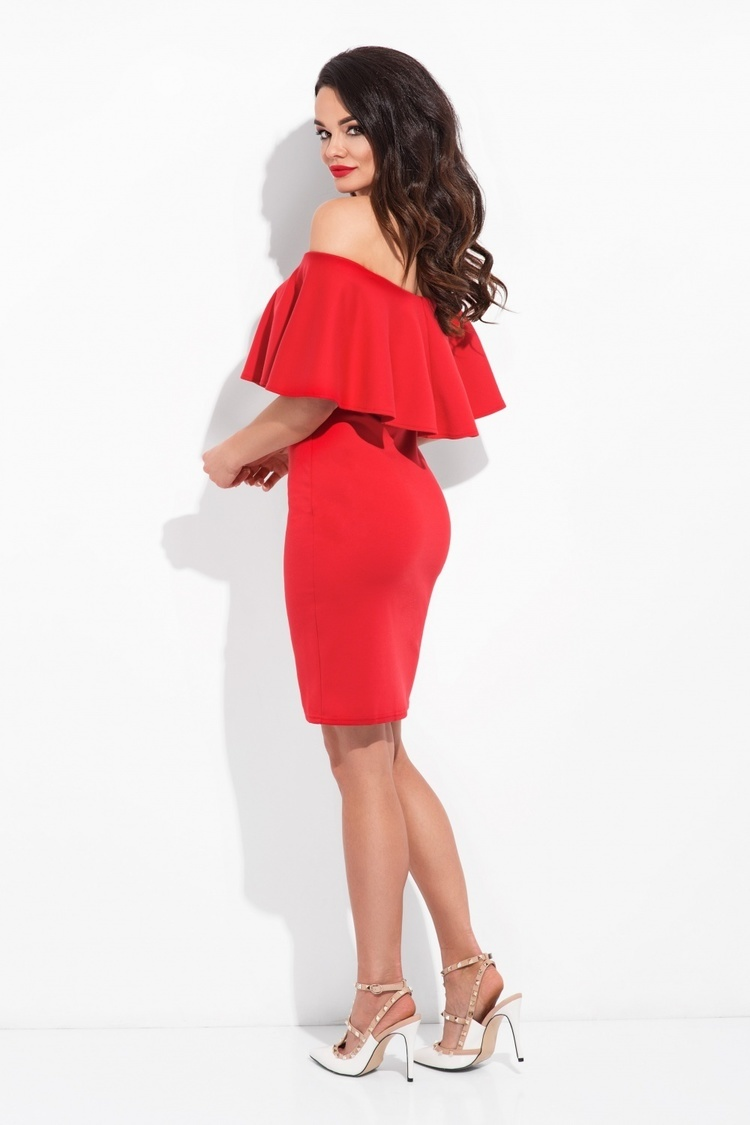 Sukienka Model Spain M01A Red - Cocoviu