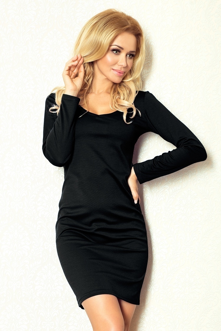 Sukienka Model 92-2 Simple Black - Numoco