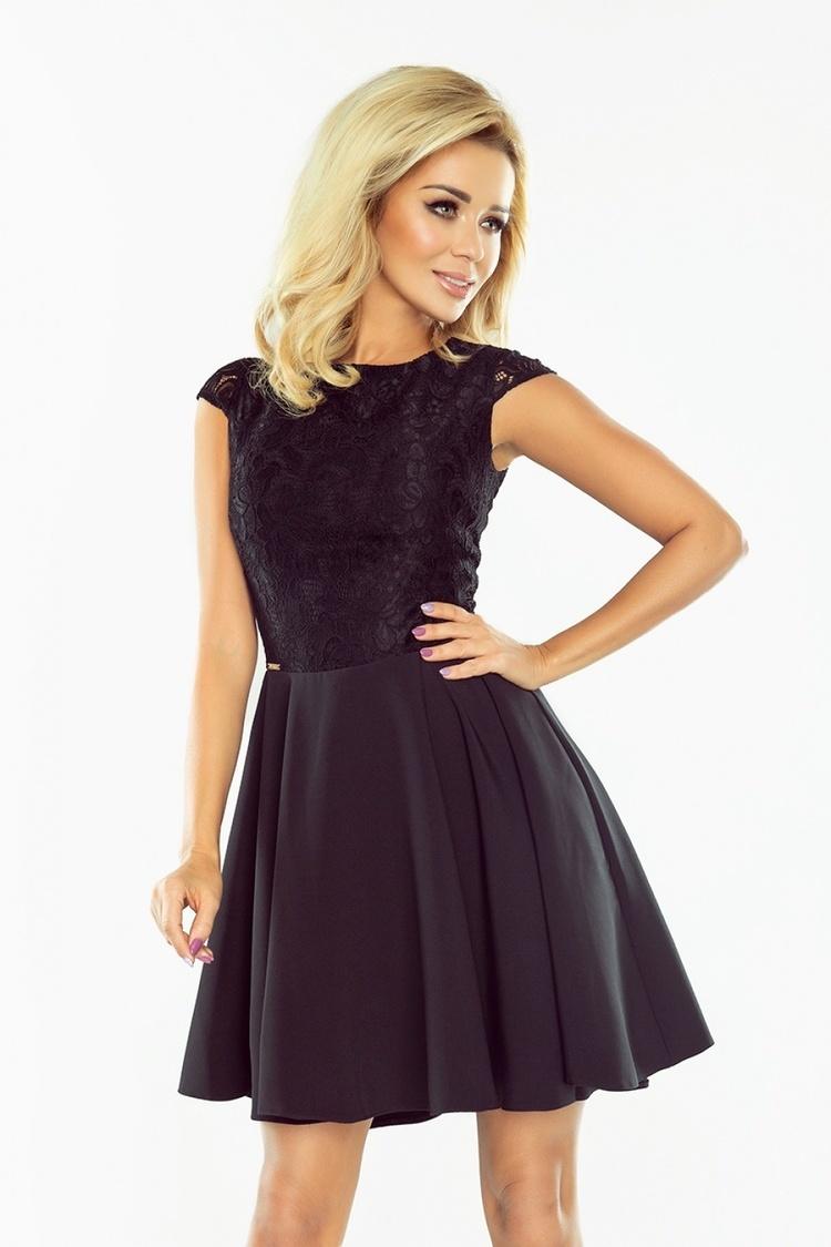 Sukienka Model 157-2 Marta Black - Numoco